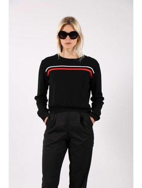 Matin Stripe Knit Sweater