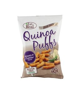 Eat Real Eat Real Quinoa Puffs Jalapeno 113g