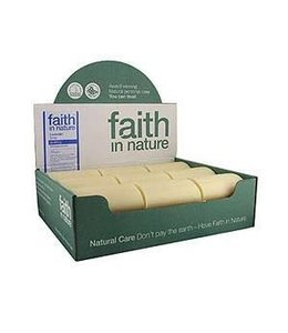 Faith in Nature Lavender Soap Unwrapped 100g