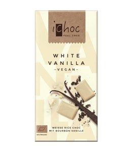 iChoc iChoc Vanilla White Rice Choc 80g