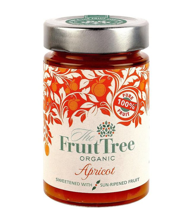 The Fruit Tree Organic Apricot 100% Fruit Spread 250g