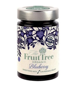 The Fruit Tree Organic Blueberry 100% Fruit Spread 250g