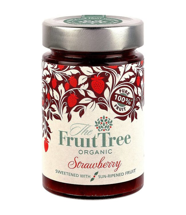 The Fruit Tree The Fruit Tree Organic Strawberry Spread 250g