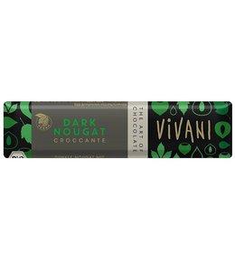 Vivani Vivani ORG Vegan Dark Nougat Croccante 35g