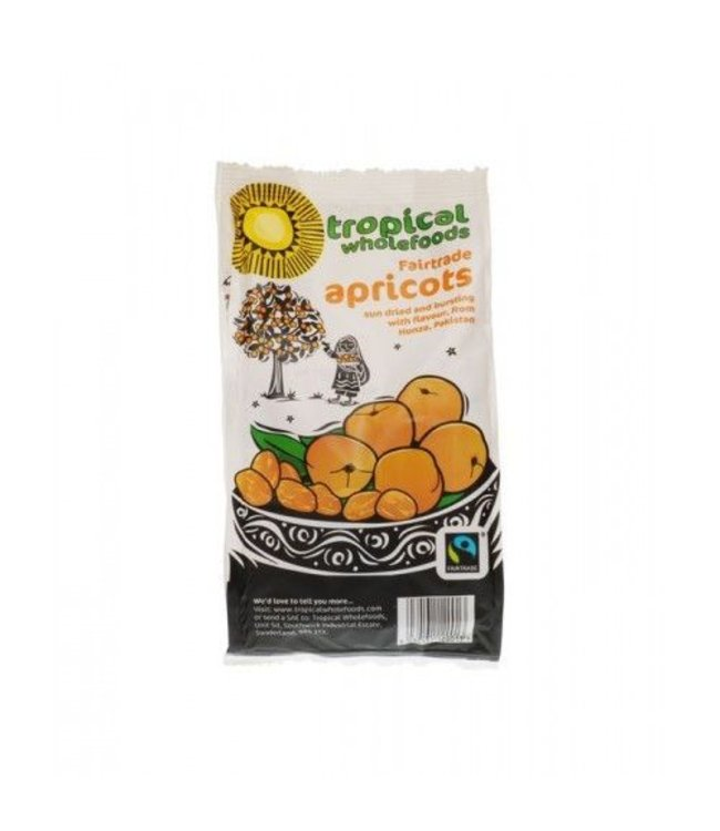 Tropical Wholefoods Tropical Apricots 125g FT 125g