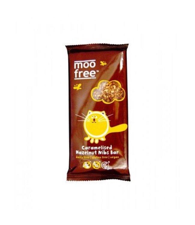 Moo Free Caramelised Hazelnut Nibs Dairy Free Milk Alternative 100g