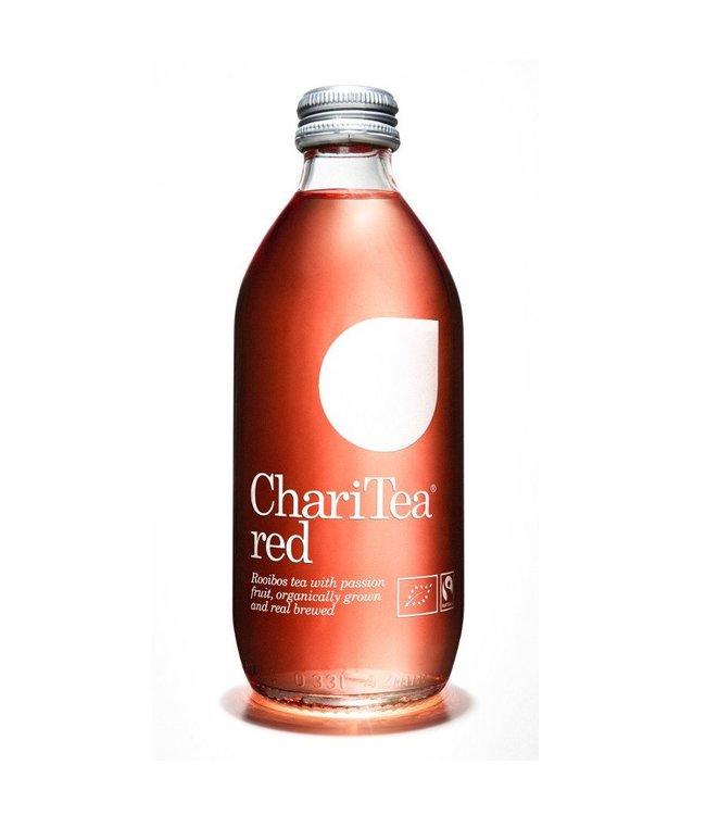 Charitea ChariTea Red ORG Iced Rooibos Tea & Passion Fruit 330ml