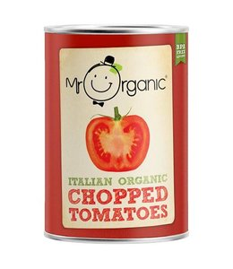Mr Organic Mr Organic Chopped Tomatoes 400g