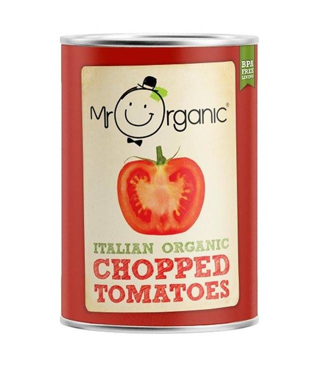 Mr Organic Mr Organic Chopped Tomatoes 400g