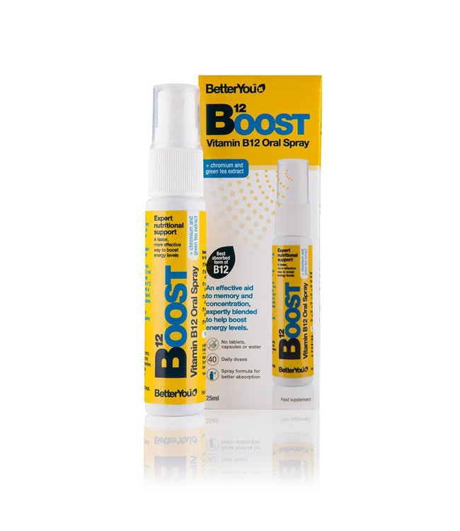 BetterYou Boost B12 Daily Oral Spray 25ml
