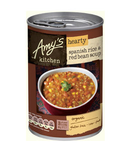 Amys Amys Organic Spanish Rice & Red Bean Soup 416g