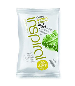Inspiral Visionary Products Inspiral ORG Baobab Onion Kale Chips SML 30g