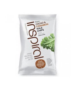 Inspiral Visionary Products Inspiral Cacao Cinnamon Kale Chips 30g