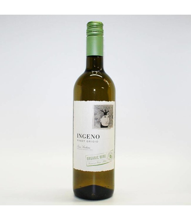 White Wine Ingeno Pinot Grigio 75cl