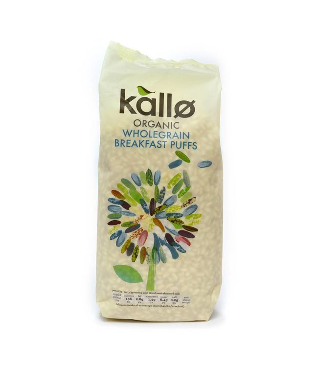 Kallo Puffed Rice Cereal 225g