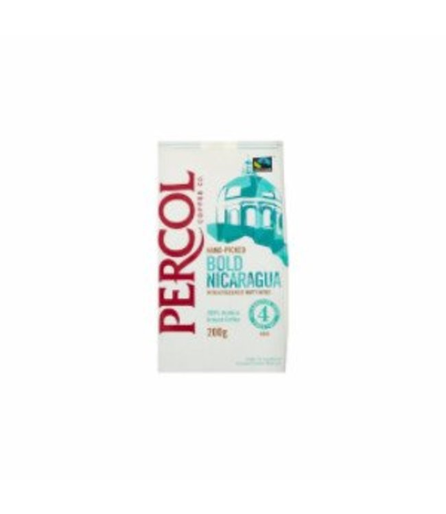 Percol D Percol Bold Nicaragua GROUND Coffee FT 200g