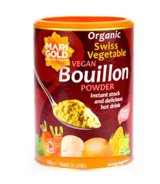 Marigold Marigold ORG Swiss Veg Bouillon 500g Red Family 500g
