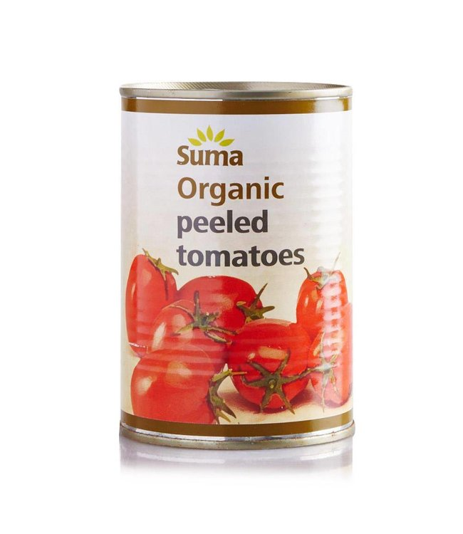 Suma Suma Organic Tomatoes Peeled 400g