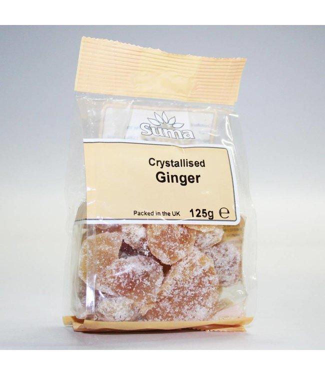 Crystallized Ginger 125g