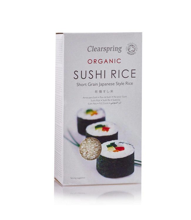 Clearspring C/Spring ORG Sushi Rice 500g