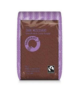 Traidcraft Fairtrade Dark Muscovado Sugar FT 500g