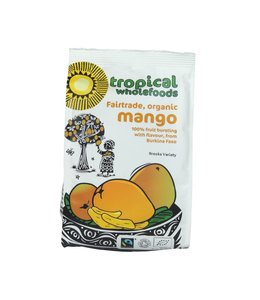 Tropical Wholefoods Tropical Wholefoods Dried Mango 100g
