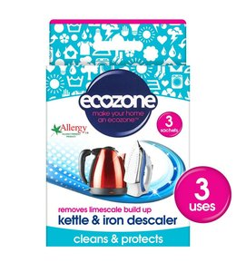 Ecozone Kettle & Iron Descaler 3pk