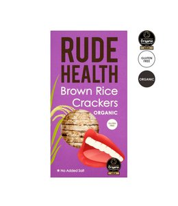 Rude Health R/Health ORG GF Brown Rice Crackers 130g