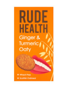 Rude Health R/Health Ginger&Turmeric Oaty Savoury Biscuit 200g