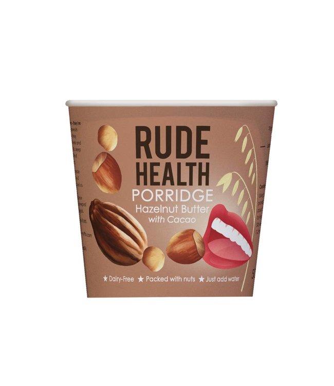Rude Health Rude Health Hazelnut Butter Porridge 50g POT 50g