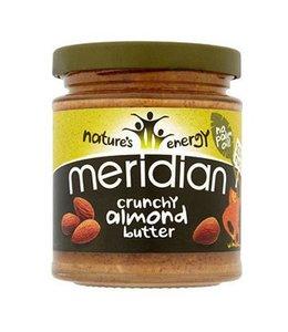 Meridian Meridian Almond Butter Crunchy 100% No Salt 170g