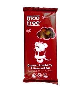 Moo Free Moo Free Chocolate Cranberry & Hazelnut 100g