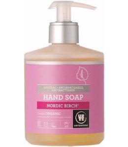 Urtekram Nordic Birch Liquid Hand Soap Anti-Bacterial - 380ml Organic. Wit