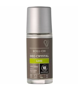 Urtekram Urtekram Crystal Deodorant Roll On Lime 50ml. Organic