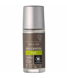 Urtekram Urtekram Roll On Crystal Deodorant Roll On - Lime 50ml