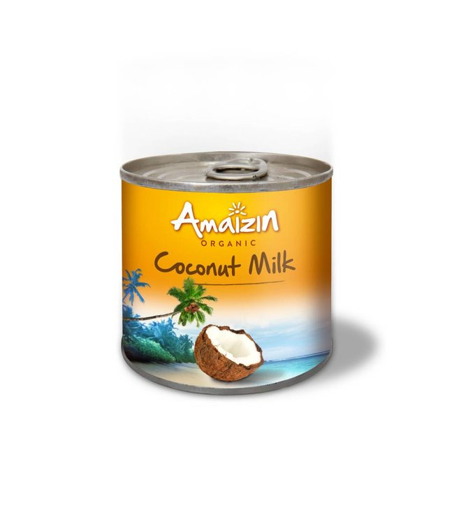 Amaizin Coconut Milk - Organic - 200ml Tin