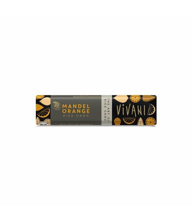 Vivani Vivani ORG Vegan Almond Orange Choc 35g