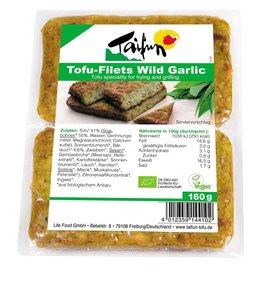 Taifun Organic Taifun ORG Tofu Filets Wild Garlic 160g