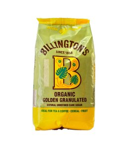 Billingtons Org Golden Granulated Sugar 500g