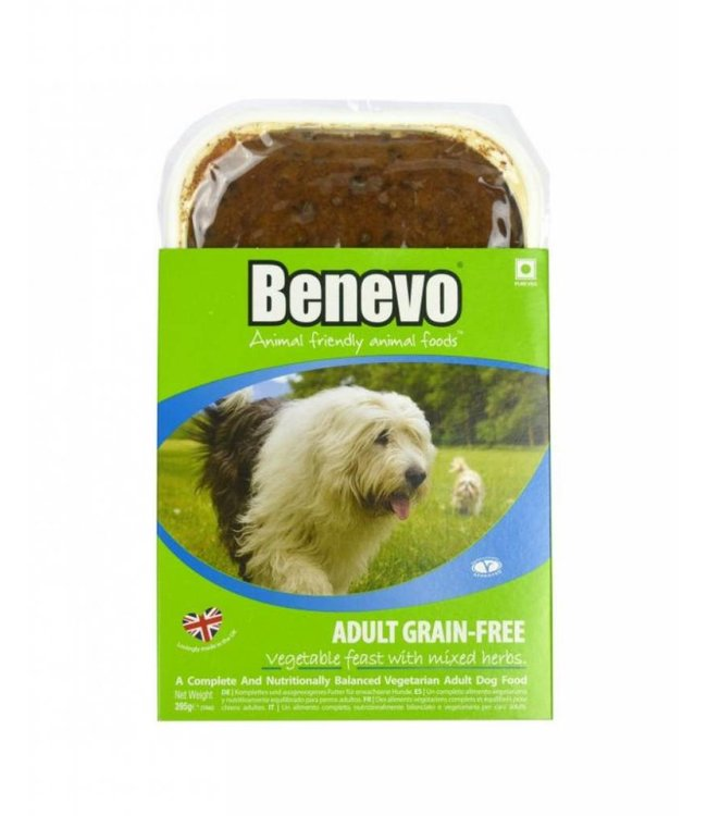 Benevo Grain Free Vegetable Dog Food 395g