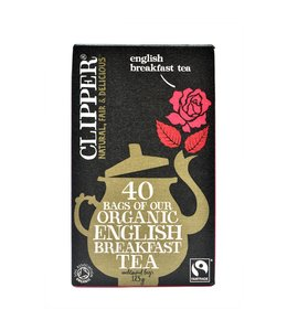 Clipper Clipper Fairtrade Organic Breakfast Tea 40 bags