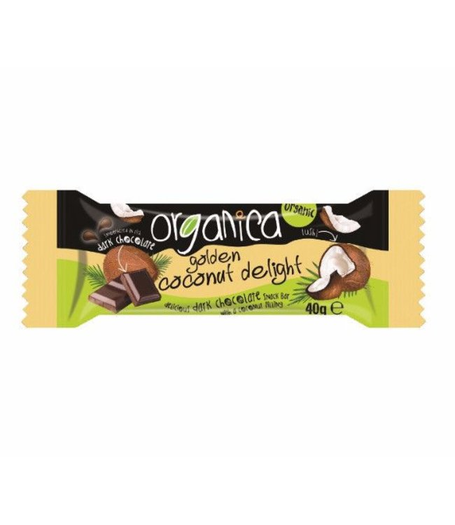 Organica Golden Coconut Delight Vegan 40g
