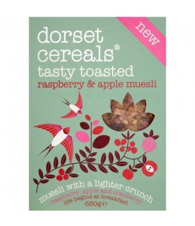 Dorset Cereals Dorset Cereals Tasty Toasted Raspberry & Apple Muesli 650g