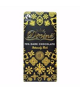 Divine Chocolate 70% Dark Chocolate 100g