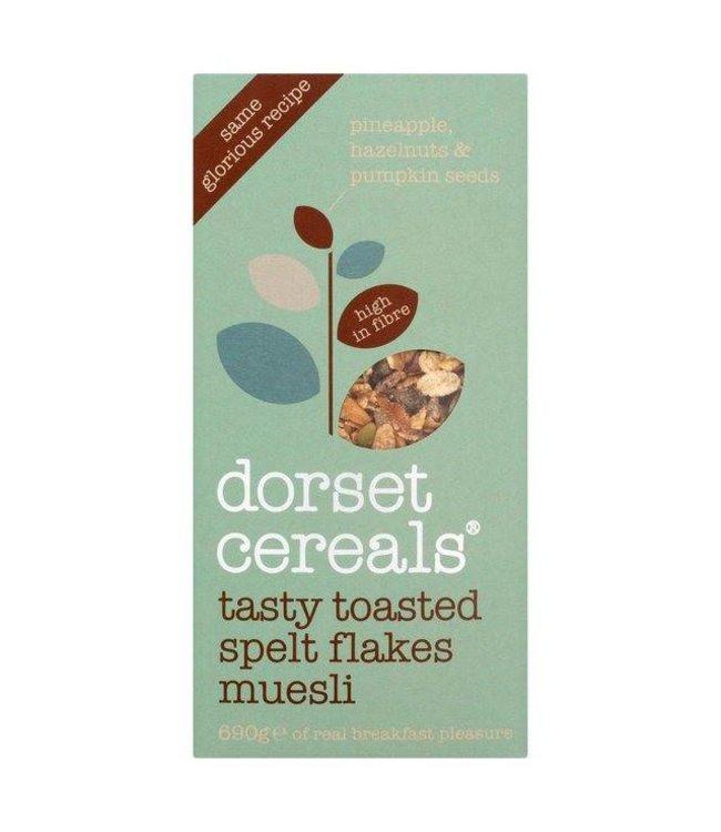 Dorset Cereals Dorset Cereals Tasty Toasted Spelt Flakes 690g
