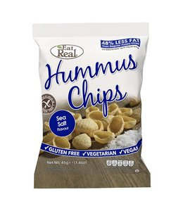 Eat Real Eat Real Hummus Chips Sea Salt 45g