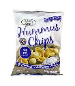 Eat Real Eat Real Hummus Chips Sea Salt LGE 135g