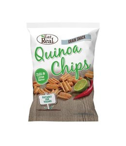 Eat Real Eat Real Quinoa Chips Chilli Lime LGE 80g