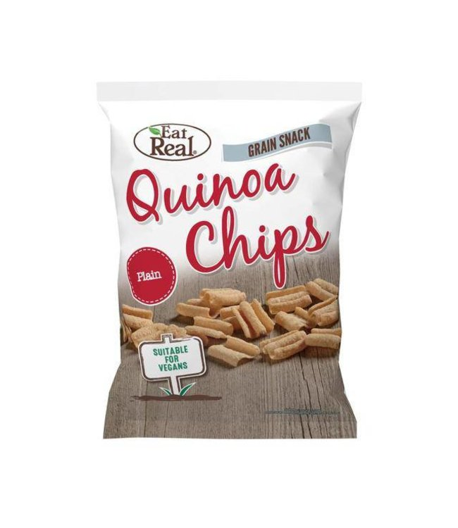 Eat Real Eat Real Quinoa Chips Plain 80g