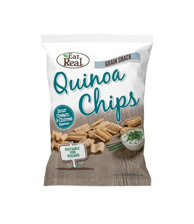 Eat Real Eat Real Quinoa Chips Sour Cream & Chives 30g